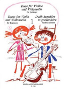 Duets for Violin and Violoncello for Beginners
