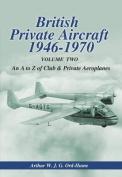 British Private Aircraft 1946-70