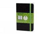 Moleskine Evernote Smart Notebook, Pocket, Ruled, Black, Hard Cover
