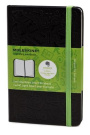 Large Ruled Black Hard Evernote Notebook