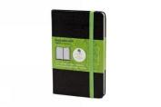 Moleskine Evernote Smart Notebook, Pocket, Squared, Black, Hard Cover