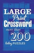 Large Print Crossword