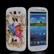 Butterfly Soft Silicone Gel Tpu Case Cover For Samsung I9300 Galaxy S 3 Slll