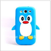 Moq   Cute Penguin Soft Silicone Case For Samsung I9300 Galaxy S3 Iii I9300