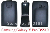 Shine Leather Case For Samsung Galaxy Pro Y B5510
