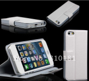 New Smart Wallet Leather Case With Stand For Iphone 5 5g
