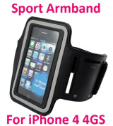 Sport / Running Elastic Rubber Armband For Iphone 4 4gs Ipod Touch Arm Band Case Cover Holder