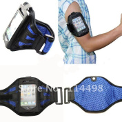 New Blue Sports Gym Equipment Armband Arm Band Case Cover For Iphone 4g 4s 4gs Ipod Touch