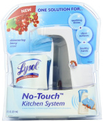 No-Touch Kitchen System, 8.5oz, Plastic, Berry
