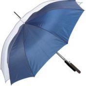 All-Weather 120cm Polyester White Auto-Open Umbrella | GFUMP48WHITE