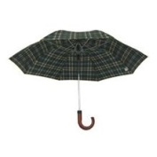 Homebasix TB-03 Rain Umbrella Compact 21 Inch Black
