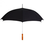 Rainkist The Sleek Auto Open Umbrella-Black