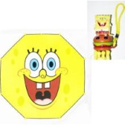 Spongebob Squarepants Spongebob Squarepants Smile Collapsible Umbrella with 3D Handle