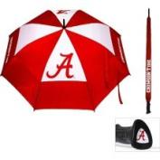 Team Golf NCAA 160cm Double Canopy Umbrella - Alabama Crimson Tide