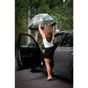 Frankford Clear Bubble Umbrellas Blk Trim
