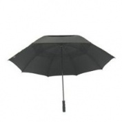 Homebasix TF-08 29 Inch Fiberglass Black Golf Umbrella