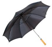 Elite Rain Classic Black Doorman Umbrella with Straight Handle