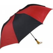 Haas-Jordan by Westcott 4355 150cm . Folding Golf Umbrella Red-Black