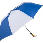 Haas-Jordan by Westcott 4308 150cm . Folding Golf Umbrella Royal-White