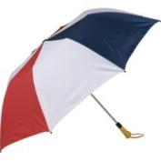 Haas-Jordan by Westcott 4312 150cm . Folding Golf Umbrella Red-White-Navy