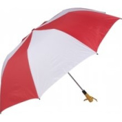 Haas-Jordan by Westcott 4307 150cm . Folding Golf Umbrella Red-White