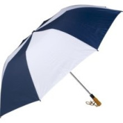 Haas-Jordan by Westcott 4304 150cm . Folding Golf Umbrella Navy-White
