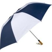 Haas-Jordan by Westcott 4304 150cm . Folding Golf Umbrella Navy-White