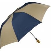 Haas-Jordan by Westcott 4313 150cm . Folding Golf Umbrella Navy-Tan