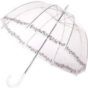 Frankford FrankFrdbublsym Clear Printed Bubble Umbrella Symphony