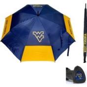 Team Golf NCAA 160cm Double Canopy Umbrella - West Virginia Mountaineers