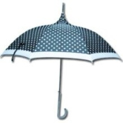 Greatlookz 8palk9034 Black and White Polka Dots All Over Parasol