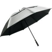 Sun Tek 170cm UV Protection Wind Cheater Vented Canopy Silver/Black Umbrella