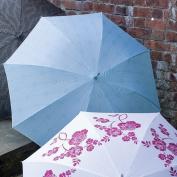 Laura Ashley 3A074759 Continental Umbrella Cathcart Duck Egg