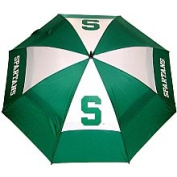 "Team Golf NCAA 62"" Double Canopy Umbrella - Michigan State University"