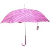 Greatlookz 8psc6002 Preppy Pink Polka Dot Parasol Umbrella