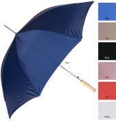RainWorthy 120cm Solid Colour Automatic Umbrella - Royal Blue - 065-24BLU