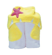 Pickles Nummy Animals 100-Percent Cotton Hooded Towel, 69cm X 137cm