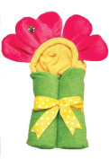 AM PM Kids 46012 Hot Pink Flower Tubby Hooded Towel - 68.6cm . x 127cm .