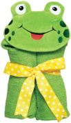 AM PM Kids 46002 Frog Tubby Hooded Towel - 68.6cm . x 127cm .