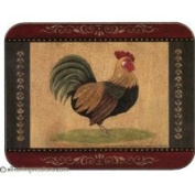 Jason D4125 Cottage Rooster Placemats, Set of 6