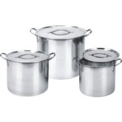 Ragalta rsp-018 8, 12 15.1ls Stainless Steel Stock Pot Set