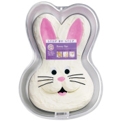"Wilton Step by Step Cake Pan Bunny 9 3/4""x14""x2"" W2074; 3 Items/Order"