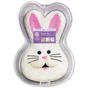 """Wilton Step by Step Cake Pan Bunny 9 3/4""""x14""""x2"""" W2074; 3 Items/Order"""