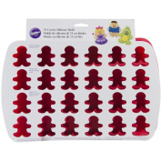 Wilton Silicone 24-Cavity Gingerbread Boy Mould