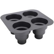 Chicago Metallic 26633 Multi-Tier Cake Pan, Non-Stick, Makes 4 - Quantity 3