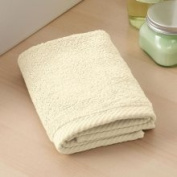 Home Source 10102WAN01 100 Percent Cotton Wash Cloth - Ivory