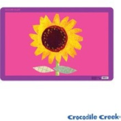 Crocodile Creek 2834-6 Sunflower Placemat