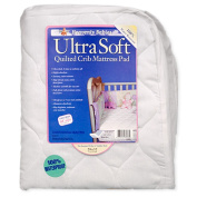 Kid-ding Ultra Soft Quilted Crib Mattres Pad