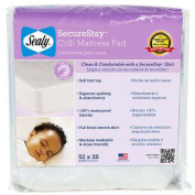 Kolcraft Enterprises, Inc. Sealy Snugfit Crib Mattress Pad
