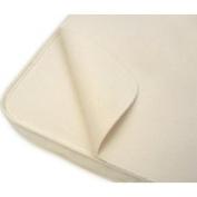 Naturepedic Non- Waterproof Organic Cotton Flannel Pad - Bassinet Flat